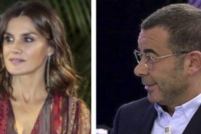 Letizia acaba siendo protagonista involuntaria de 'Sálvame' tras esta petición de Jorge Javier