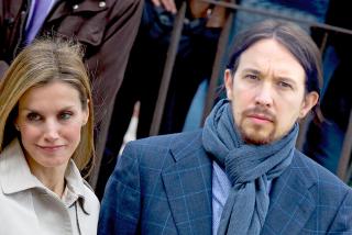 La confidencia del rey Felipe y doña Letizia al toparse con el abanderado Pablo Iglesias