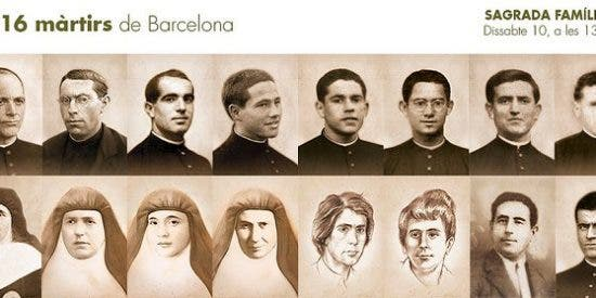 Beatificación de 16 mártires de la archidiócesis de Barcelona