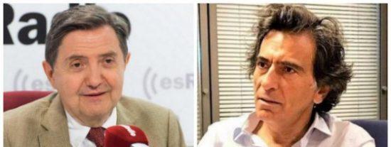 Losantos pone contra las cuerdas a Arcadi Espada por su 'Voxofobia' contra el partido de Santiago Abascal