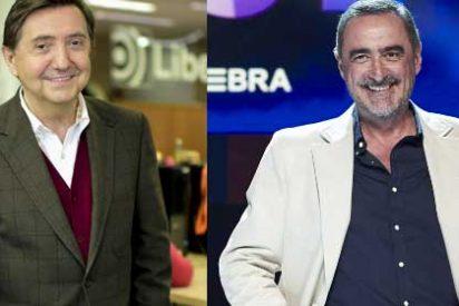"""Losantos le mete el dedo en el ojo a Carlos Herrera: """"La COPE se negó a meter un anuncio para una manifestación por España"""""""