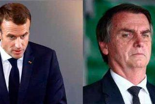 """Bolsonaro no admite las amenazas de Macrón y defiende la soberanía de Brasil ante el """"Acuerdo de Paris"""""""