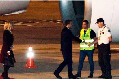 La airosa salida del presidente Macrón a su llegada al G-20 ante el fallo de protocolo argentino