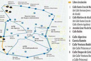 Madrid Central: Guía para intentar sobrevivir a las trampas de Carmena y los de Podemos