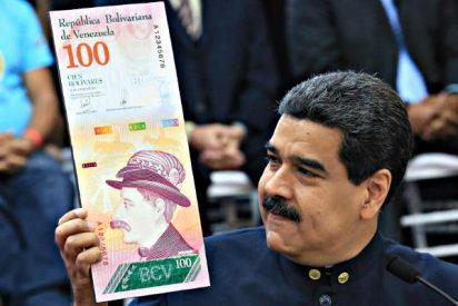 """Los resultados del """"plan de recuperación económica"""" chavista ya el bolívar vale 30% menos"""
