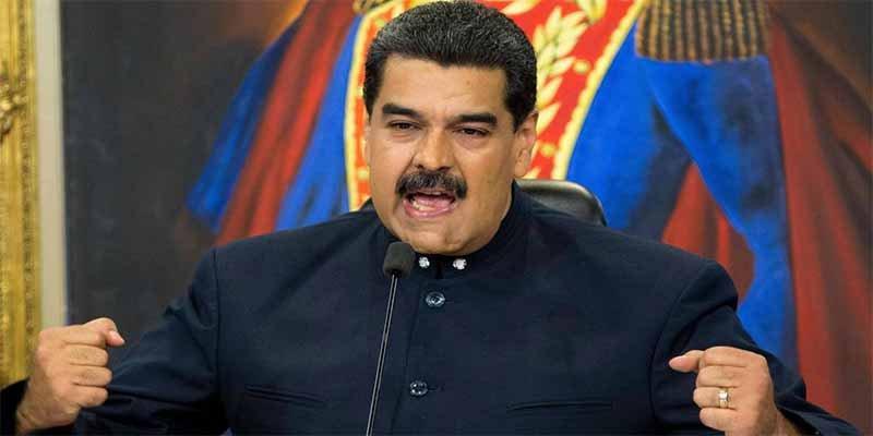 El tirano Nicolás Maduro destroza Venezuela