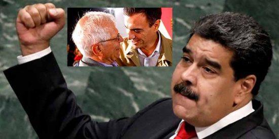 La UE condena la inhabilitación de los diputados venezolanos y Borrell a su vez lanza una caricia al dictador