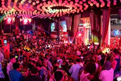 Así son las noches locas en Cancún