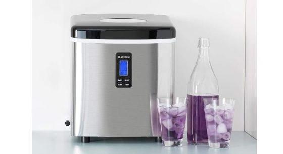 máquina de hacer hielo casera