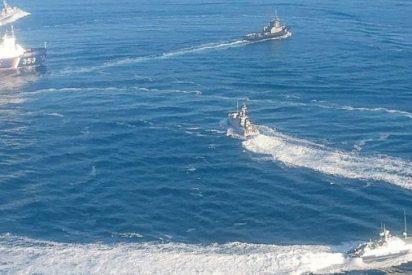 Un capitán ruso ordena embestir a un buque ucraniano