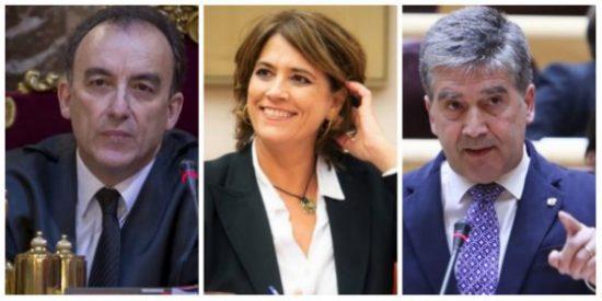 Marchena manda a hacer puñetas a PP y PSOE por mantener al chulo Cosidó y a la sucia Delgado