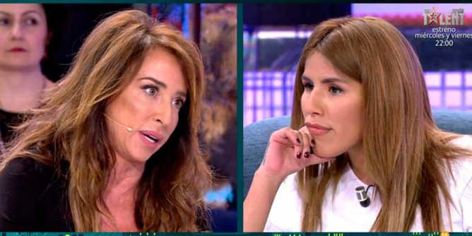 "A María Patiño le da 'miedo' Isa Pantoja: ""Tan chiquita y tan manipuladora"""