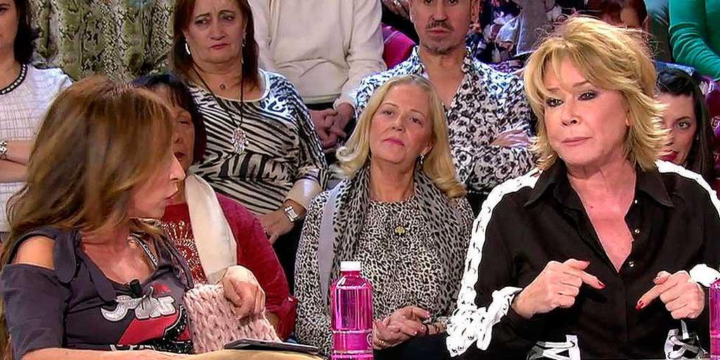 """El 'brote' de furia de Mila Ximénez contra María Patiño: """"¡No eres el ombligo de este programa!"""""""