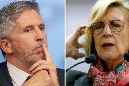 """Rosa Díez estalla contra el ministro Marlaska por pedir no crispar en Alsasua: """"¡Con ese criterio nos habríamos ido de Euskadi para no provocar a ETA! ¡Sinvergüenza!"""""""