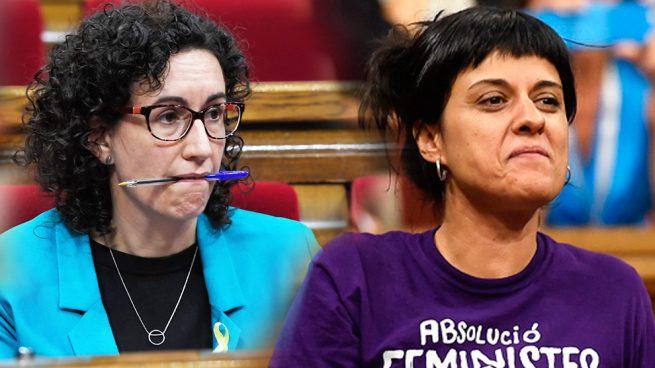 Los sucios trabajos que han encontrado las 'bien pagadas' Anna Gabriel y Marta Rovira