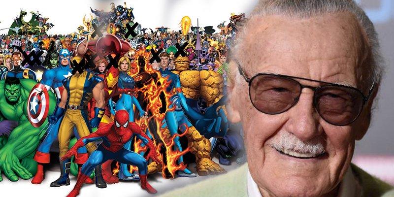 Despedimos a Stan Lee dándole las gracias por todos estos personajes Marvel