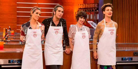 Ona, Antonia, Paz y Mario lucharán por ser el nuevo 'Masterchef Celebrity'