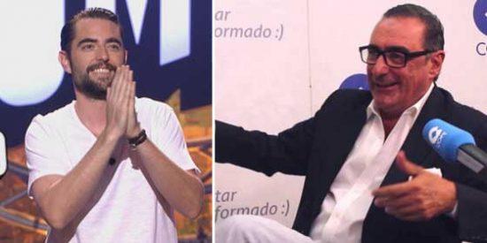 """Carlos Herrera zarandea a Dani Mateo: """"Esos cojones, en Despeñaperros. A ver si hay narices de hacerlo con la ikurriña o la del ISIS"""""""