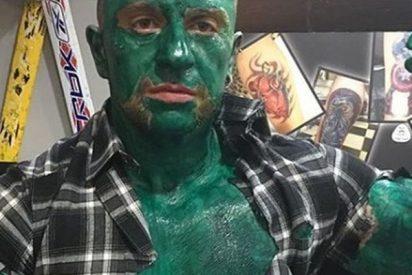Este es Matteo 'Hulk', el italiano que viajó a Tenerife para rociar con ácido a su ex novia