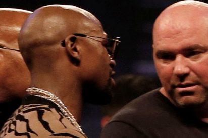 El presidente de la UFC ofrece a Mayweather 150 millones por pelear contra Khabib