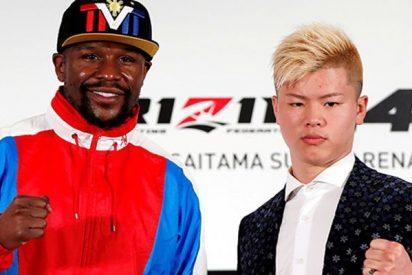 """Mayweather descarta haber acordado luchar contra estrella de la MMA japonesa : """"Soy boxeador retirado"""""""