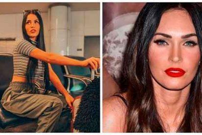 La modelo brasileña que alcanzó la fama por su increíble parecido con Megan Fox