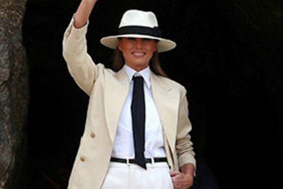 Melania Trump se gasta 95.000 dólares en un par de horas en un Hotel del Cario