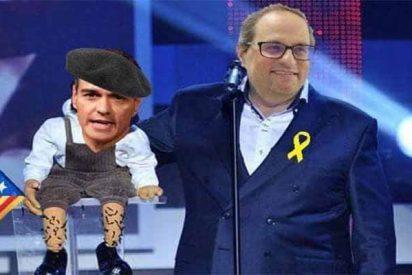 El socialista Pedro Sánchez paga el 'alquiler mensual' de La Moncloa a los golpistas catalanes