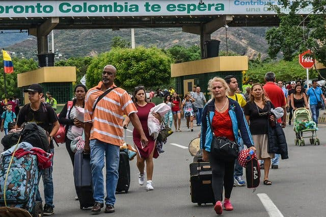 La dictadura chavista ha empujado a más de un millón de venezolanos a Colombia en 2018