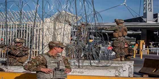"""Donald Trump autorizó a los militares a que usen la fuerza """"si fuera necesario"""" para proteger a la patrulla fronteriza"""