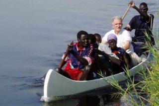 """Padre Roy Zúñiga, misionero en Sudán: """"Necesitamos ayuda, se avecina una hambruna el próximo año"""""""