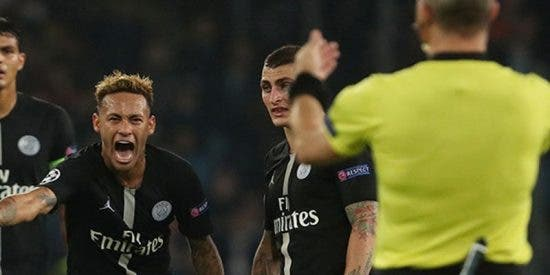 """Neymar quiere que se tomen medidas contra el árbitro que fue """"irrespetuoso"""" con él en un partido"""