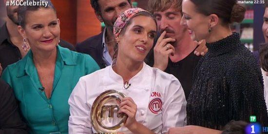 Ona Carbonell gana' Masterchef Celebrity 3' en medio de una gran bronca