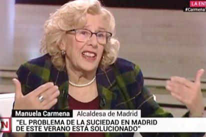 Las sucias artes de Carmena: echa la culpa de que Madrid esté hecho un asco ¡a los cartoneros!