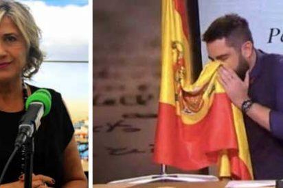 """Julia Otero despotrica desde Onda Cero contra el veto a 'El Intermedio' y defiende a Dani Mateo: """"¡En una democracia no existe ningún símbolo sagrado e intoclable!"""""""
