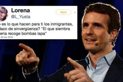 """Lorena Yusta. vocal de Carmena, a Pablo Casado: """"¡El que siembra miseria recoge bombas lapa!"""""""
