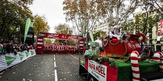 La VII Carrera de El Corte Inglés Papá Noel se celebrará el domingo 9 de diciembre en Madrid