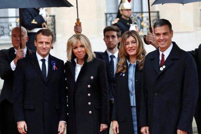 La espantada de doña Letizia da alas a Begoña Gómez que la lía de 'Reina' en París