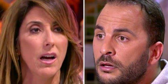 """El increíble mal rollo entre Paz Padilla y Antonio Tejado: """"Estás haciendo una porquería de programa"""""""