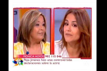 El día que Pepa Jiménez sacó a la luz las mentiras de Mónica Hoyos