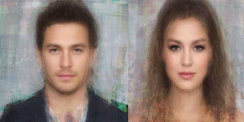 Estos son los rostros del hombre y la mujer perfecta, según la Ciencia