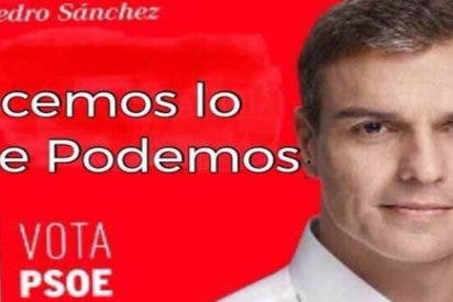 Pedro Sánchez no se 'baja los pantalones' ante los independendistas catalanes porque los lleva en el antebrazo