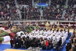 """Carlos Escribano lanza un reto en la misión diocesana: """"¿A qué te comprometes?"""""""