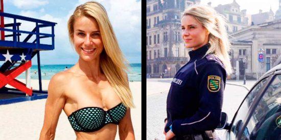 Adrienne Koleszar, la policía e influencer 'más guapa' del mundo