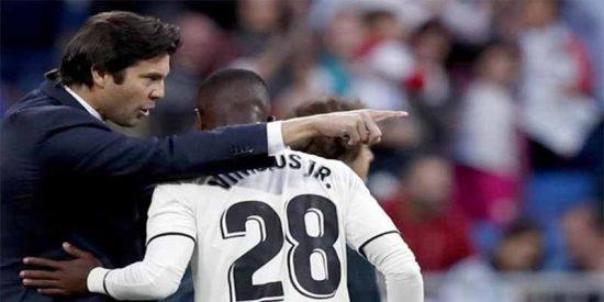 ¿Qué le dijo Solari a Vinicius antes de echarlo al campo y que salvará al Real Madrid?