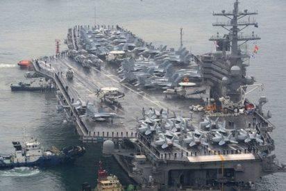 Un cazabombardero de Estados Unidos se estrella en Filipinas