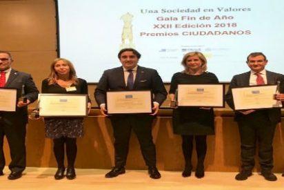 La Diputación de Palencia recoge el Premio Ciudadanos 2018