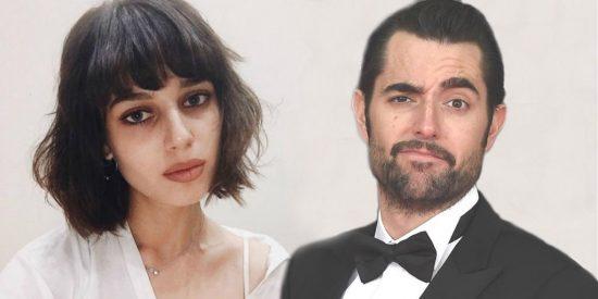 La novia de Dani Mateo pide 'respeto' para ella y su novio después de insultar a España