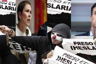 El 'okupa' Pedro Sánchez paga peaje a los proetarras para que le dejen seguir en La Moncloa