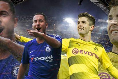 Así es el super negocio que tienen entre manos el Real Madrid y Chelsea con Pulisic y Hazard